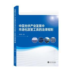 中国光伏产业发展中市场化政策工具的法律规制  宋冬冬 著 武汉大学出版社  9787307210486