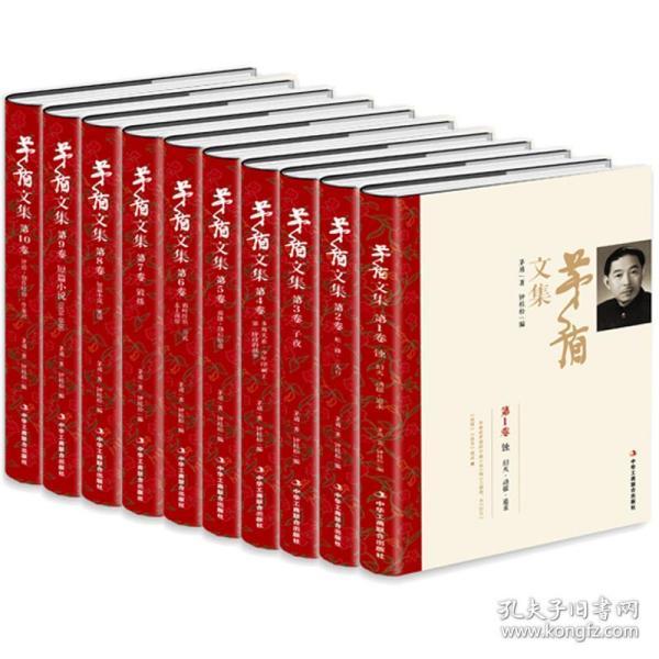 茅盾文集(豪华精装典藏版套装共10册)