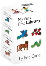 My Very First Library Board book 我的第一个图书馆 英文