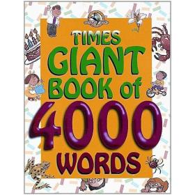 正版Times Giant Book of 4000 Words