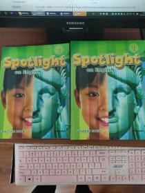 Spotlight on English 1+练习册(两本合售) 美国本土小学英文教材+练习册