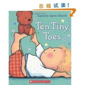 Ten Tiny Toes [纸板书] Caroline Jayne Church