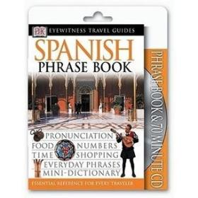现货Eyewitness Travel Guides: Spanish Phrase & CD 正版