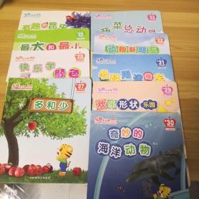 乐智小天地宝宝版 挑战系列 第25个月到第33个月共9本合售