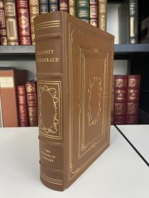 The Stories of Scott Fitzgerald  《斯科特 杰拉德短篇小说选》franklin library 1977年 真皮精装 限量版收藏版 世界伟大作家系列