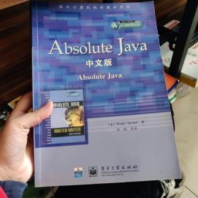 Absolute Jave(中文版)——国外计算机科学教材系列