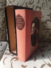 Anna Karenina by Leo Tolstoy 托尔斯泰《安娜·卡列尼娜》Constance Garnett英译 Barnett Freedman 插画;heritage press 出品 书盒与sandglass 俱在
