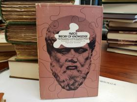 Plato's Theory of Knowledge The Theaetetus and the Sophist of Plato Translated with a Running Commentary