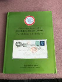 253 Corinphila Stamp Auction British Post Offices 'Abroad The 'DUBOIS' Collection (part I)