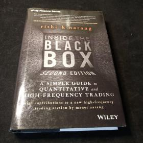 Inside the Black Box:A SimpleGuide to Quantitative and High Frequency Trading