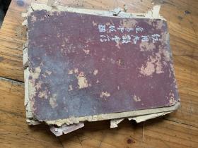 5540: 焦易堂题 统用丸散堂簿   132页,内是毛笔手写的内容,后面有医药广告