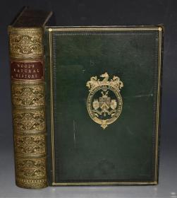 1865年 J.G. WOOD_ The New Illustrated Natural History 《新绘本自然史》珍贵初版本 全小牛皮精装超大开本 丹泽尔兄弟天量精美雕版版画 品相上佳