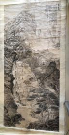 孙红梅巨幅庐山图