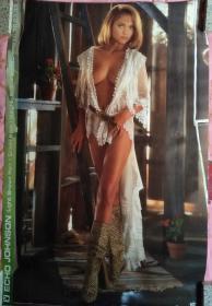 外国海报宣传画:美女 明星
