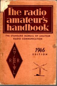 The radioamateur shangbook THE STAND ARD MANUAL OF AMATEUR RADIO COMMUNICATION.1946