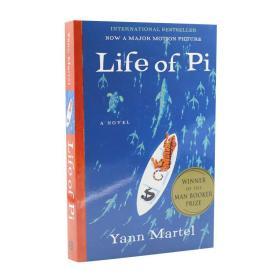 少年派的奇幻漂流 英文原版 Life of Pi 李安同名电影小说 Yann Martel 扬马特尔 进口书 平装 Paperback