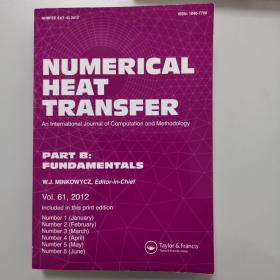 NUMERICAL HEAT TRANSFER  PART B: FUNDAMENTALS Vol. 61