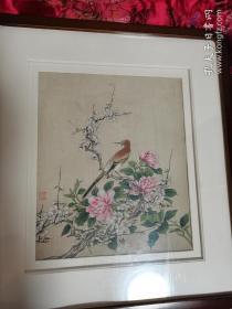 民国花鸟画(保真)