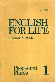 ENGLISH FOR LIFE STUDENTS BOOK People and  places