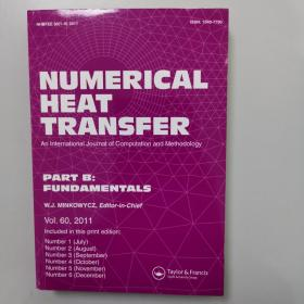 NUMERICAL HEAT TRANSFER  PART B: FUNDAMENTALS Vol. 60