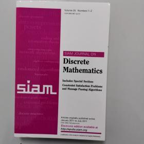 SAM JOURNAL ON Discrete Mathematics Volume 25  Numbers 1-2