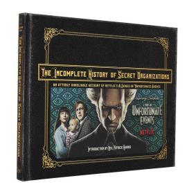 雷蒙斯尼奇的不幸历险 电视剧指南 英文原版 The Incomplete History of Secret Organizations 进口画册 美剧周边 精装 全彩