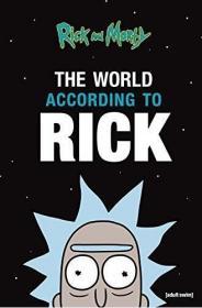 现货 瑞克和莫蒂 世界纪录 英文原版 Rick and Morty: The World According to Rick 搞笑动画 脑洞大开 科幻动画