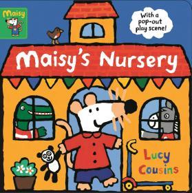 现货 小鼠波波上幼儿园 亲子互动立体游戏纸板书 英文原版 Maisy's Nursery: With a pop-out play scene 儿童英语启蒙故事绘本