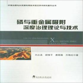磷与重金属吸附深度治理理论与技术 正版图书 9787562951032 刘占孟 武汉理工大学出版社