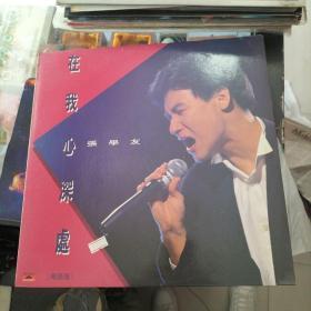 张学友(在我心深处)黑胶大唱片 粤语版