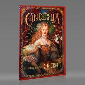 【保真】灰姑娘绘本 K.Y. Craft 殿堂级插画师作品 Cinderella