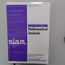 SAM JOURNAL ON Mathematical Analysis Volume 42 Number 6