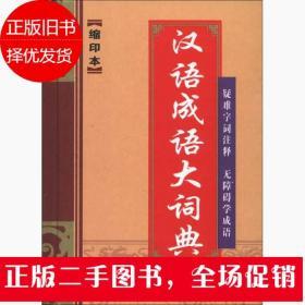 汉语成语大词典(缩印本)