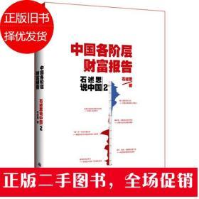 石述思说中国2:一个国家的伤痛与希望:中国各阶层财富报告