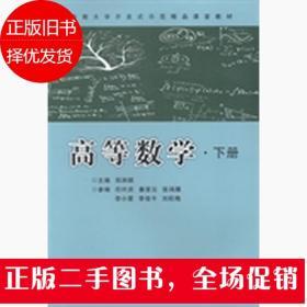 高等数学(下册)/中南大学开放式精品示范课堂建设计划教材