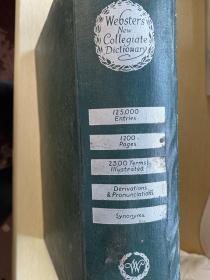 Webster's New Collegiate Dictionary  韦勃斯特大学英语新字典