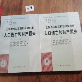 上海市宝山区抗日战争时期人口伤亡和财产损失(上下册)