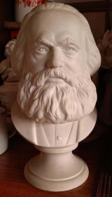 上世纪七十年代伟大的灵魂,思想家,共产主义开创者马克思瓷像