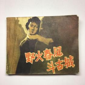 电影连环画册:野火春风斗古城