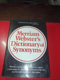 Merriam Websters Dictionary ofSynonyms(韦氏同义词词典)