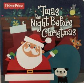 纸板书 twas the night before christmas 圣诞节前一晚