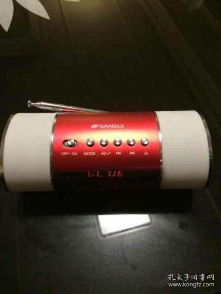 ??山水(SANSUI) E10 便携式音箱插卡小音箱迷你音响收音机mp3播放器外放低音炮 红色