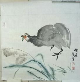 山东省美协会员宋德远老师斗方、三尺整张国画作品110副打包出售