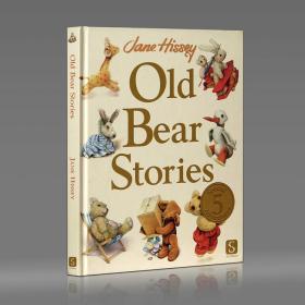 【保真】国际彩铅手绘大师 Jane Hissey 老熊故事插画集 Old Bear Stories