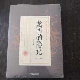 龙冈豹隐记/民国通俗小说典藏文库(套装共2册)