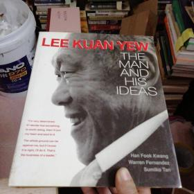 LEE KUAN YEW THE MAN AND HIS IDEAS  签名本
