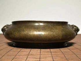 A840老包浆铜香炉