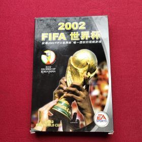 游戏光盘 fifa 2002 世界杯 光盘一张,加手册