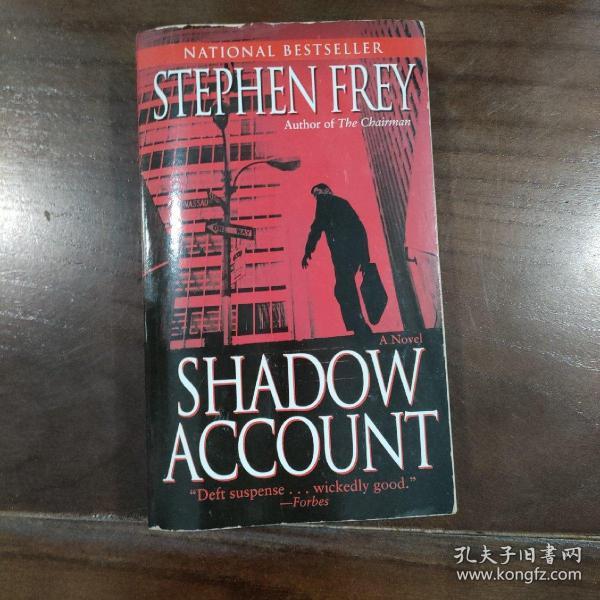Shadow Account  A Novel