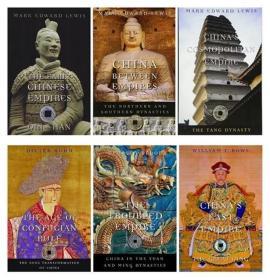 英文原版History of Imperial China 1-6卷套装 哈佛中国史